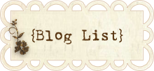 Blog List header