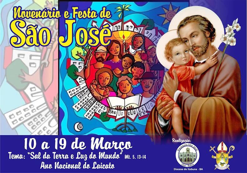 Novenário e Festa de São José 2018