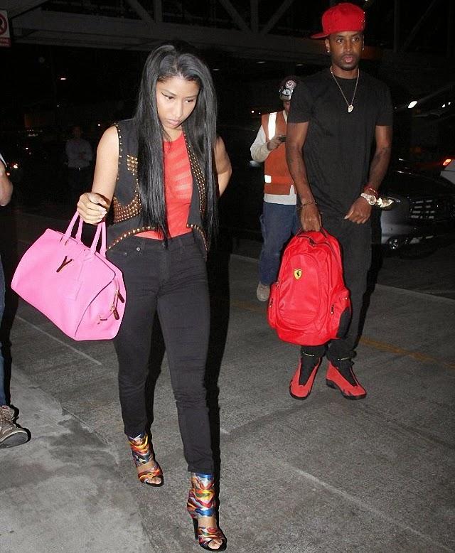 Nicki Minaj no esta muy feliz