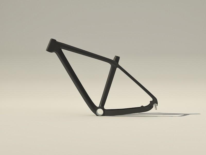 modélisation d'un cadre de vélo pour un particulier