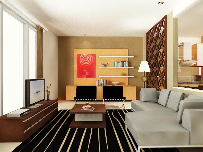 Desain Ruang TV Rumah Minimalis