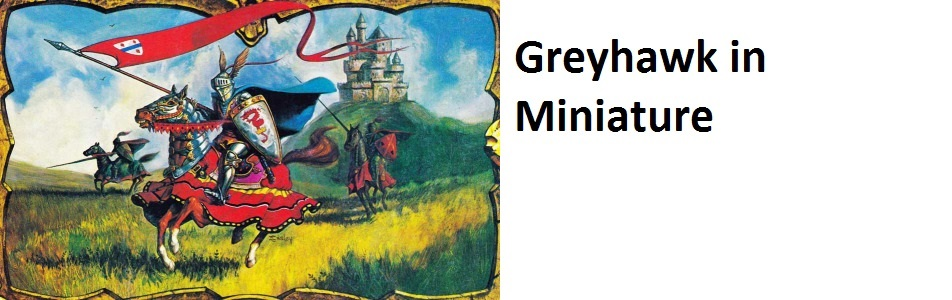 Greyhawk in Miniature