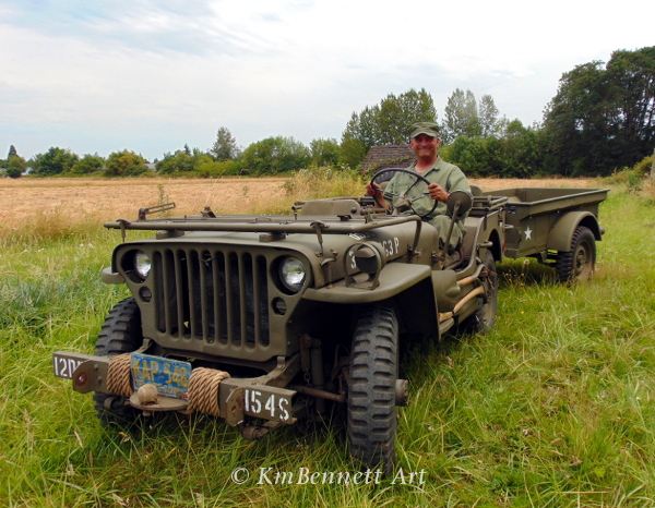Fred with jeep
