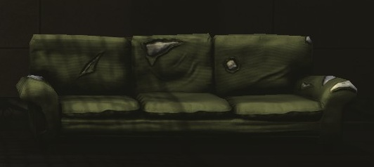 Green Paltry Couch