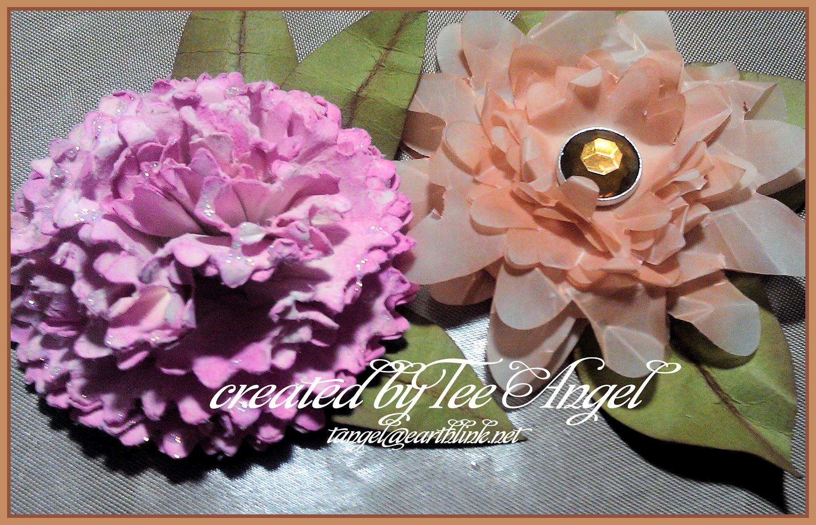 Cutters Creek Design Team: Cricut Flower Shoppe Flowers