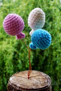 воздушные шары крючком