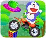 Doremon tay lái vượt địa hình, chơi game doremon hay tại gamevui.biz