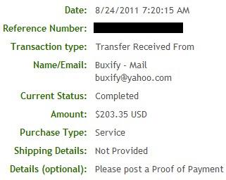 Pagamento BuxifY - PTCs em Prática