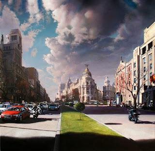 Cuadros Paisajes Urbanos Hiperrealistas