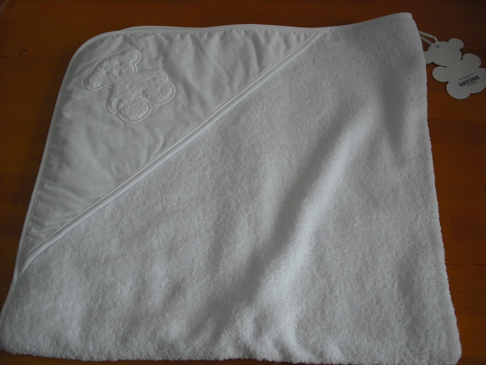 Antojos bebe toallas arrullos y capas de ba o - Capas de bano bebe personalizadas ...