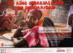 Colaboramos cada año con Save The Children 2013