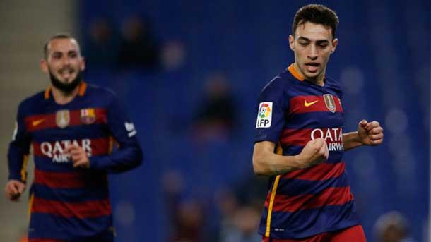 Fantástica asistencia de Messi para que Munir rompa su sequía ante el Espanyol