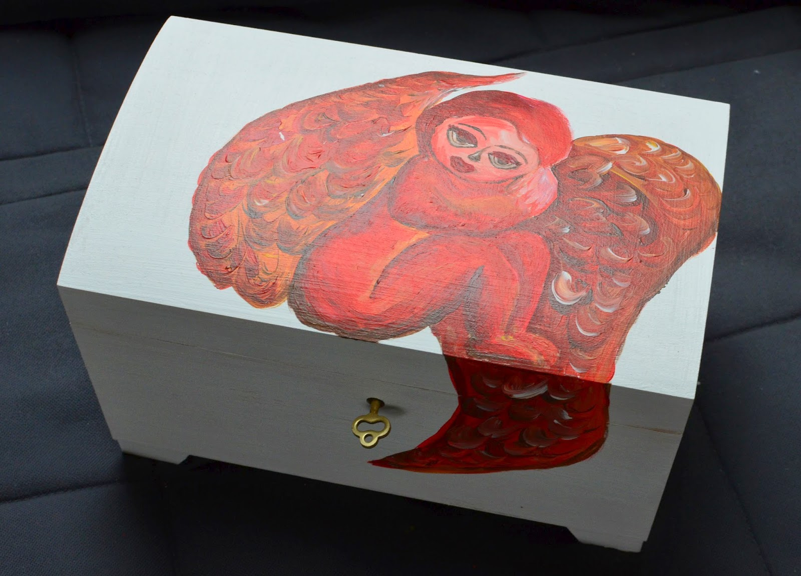anioł kufer