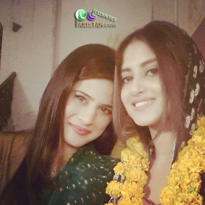 Sohai Ali Abro's Smiling Pictures