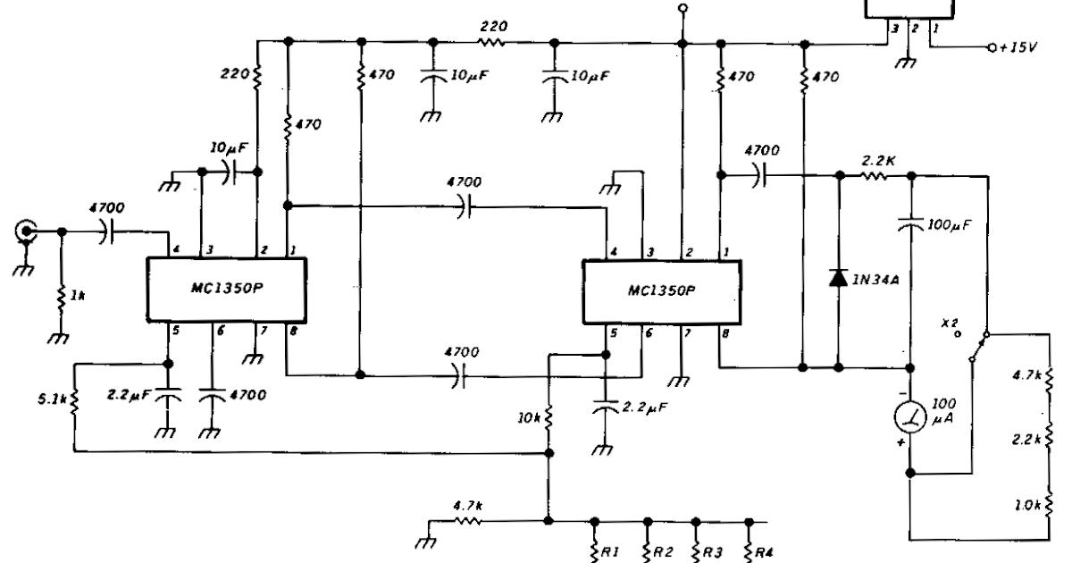 Simple Sensitive Rf Voltmeter Circuit Diagram