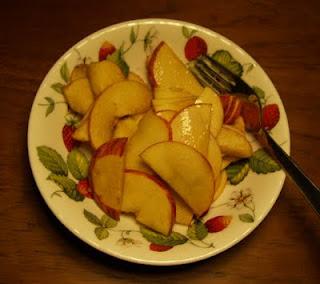 Æble med balsamico