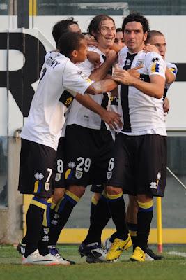 Parma Cesena 2-0 highlights sky