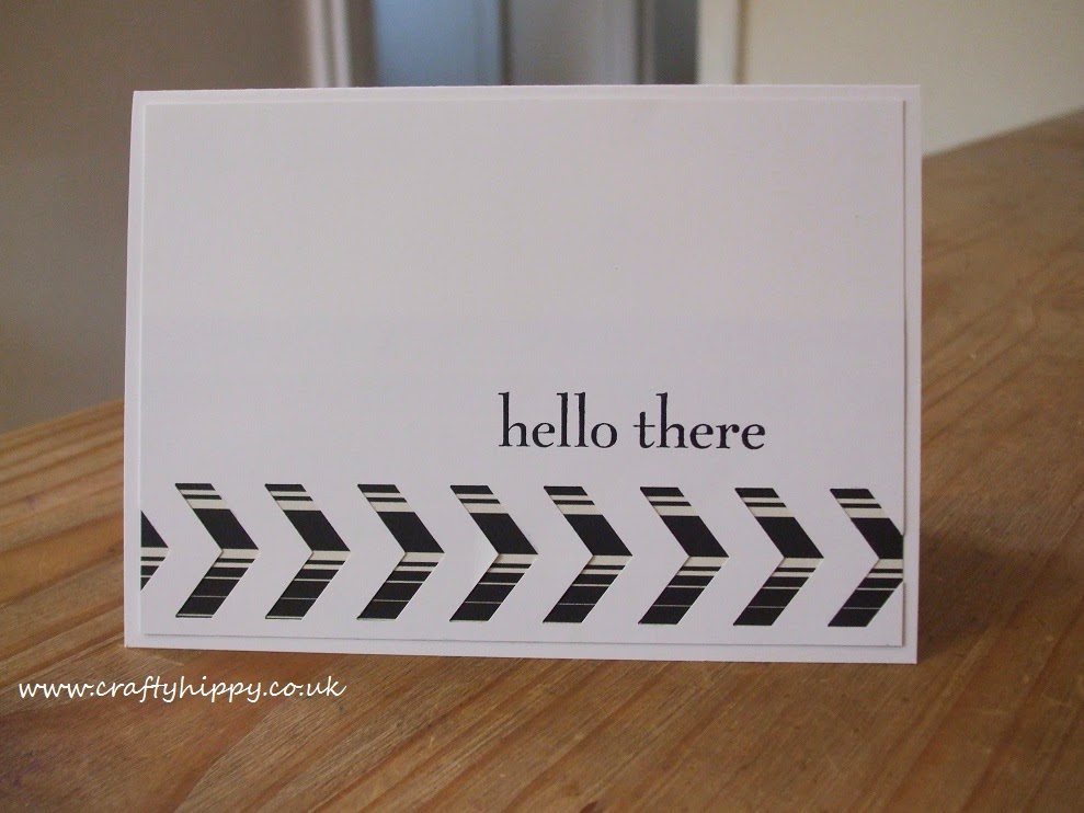 Modern Medley, Chevron Punch, Stampin' Up!