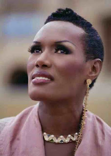 grace jones classic look