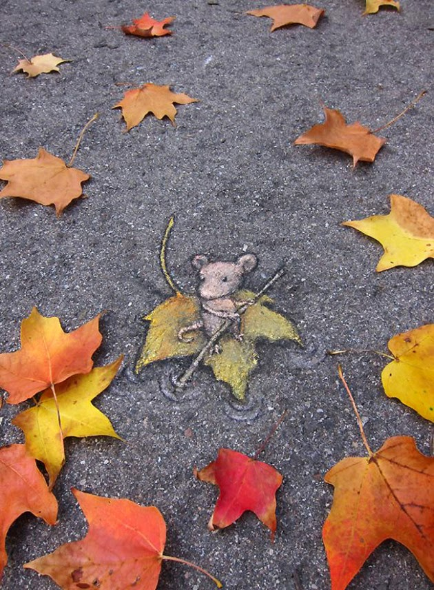 The Best Examples Of Street Art In 2012 And 2013 - Chalk Art by David Zinn