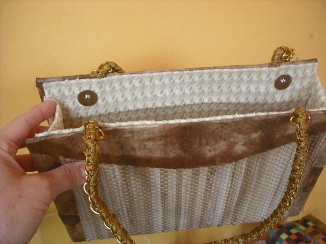 Bolsa De Festa De Caixa De Leite Passo A Passo : Bolsas de caixas leite revestidas com taboa