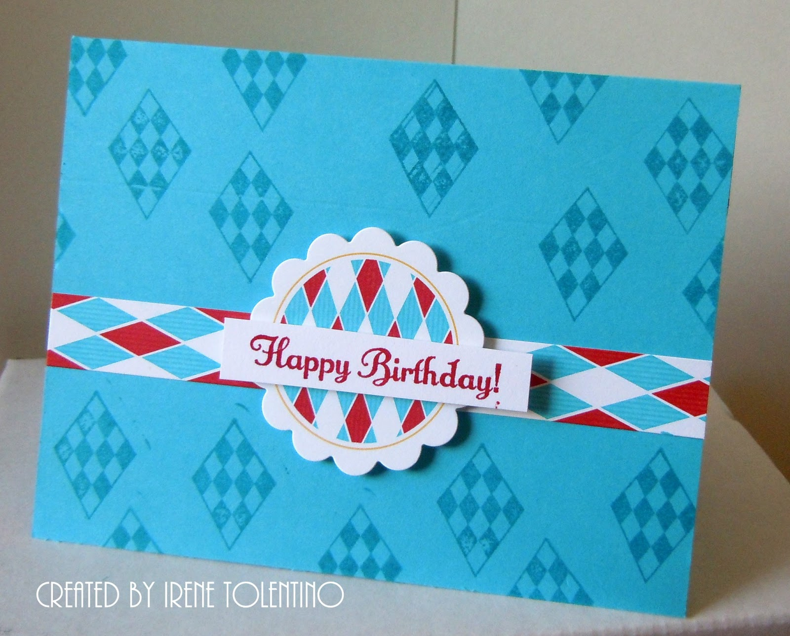 Chit Chats and Crafts Birthday Gift Card Holder