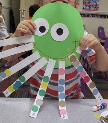 Mrs karen 39 s preschool ideas under the sea for Octopus craft for preschool