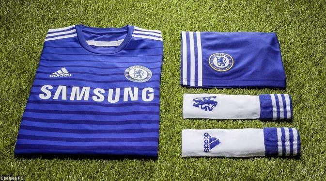 Kostum Terbaru Chelsea untuk PES 2015
