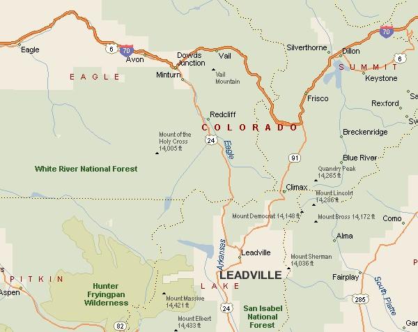 Durango Roadtripping Taking A Roadtrip To Leadville Colorado: Colorado Map Leadville At Usa Maps
