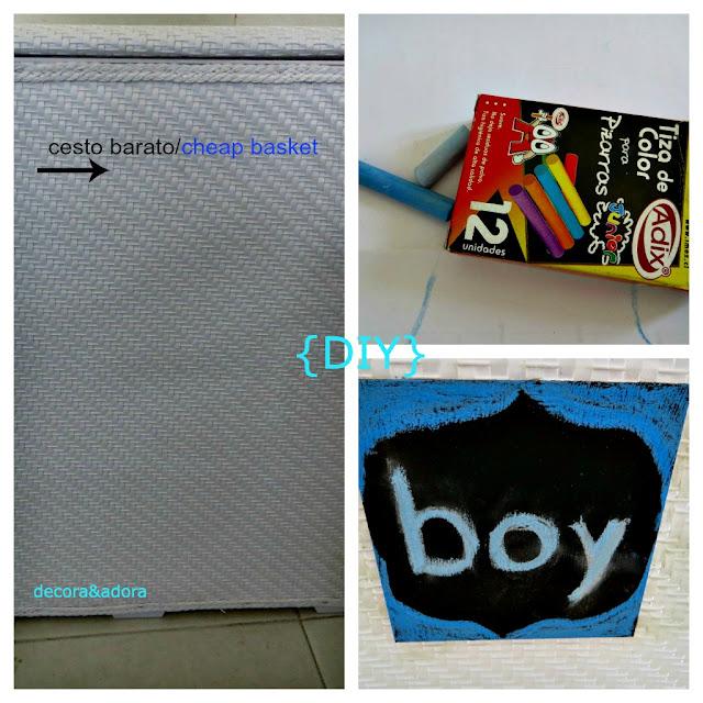 Cortinas De Baño Homecenter:decora y adora: DIY cesto ropa sucia baño niños /laundry basket for