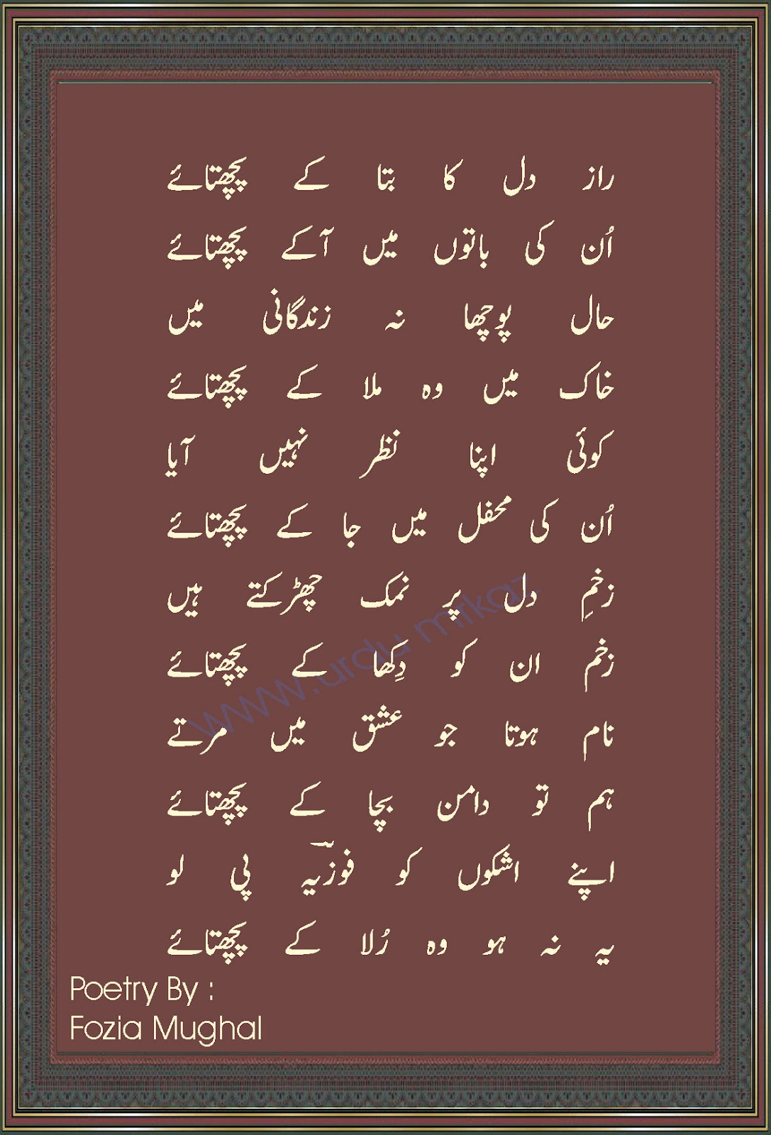 in urdu Urdu is one of the two official languages of pakistan it is also one of the 22 scheduled languages of india and is an official language of five indian states there.