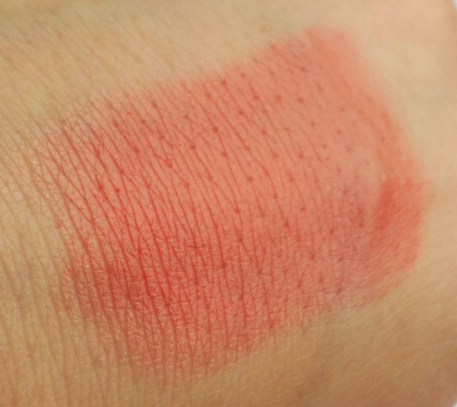 Born Pretty Velvet Finish Moisturising Lipstick in the Shade 01 Swatched