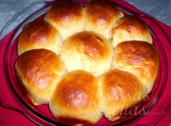 Receita de Pão de leite condensado