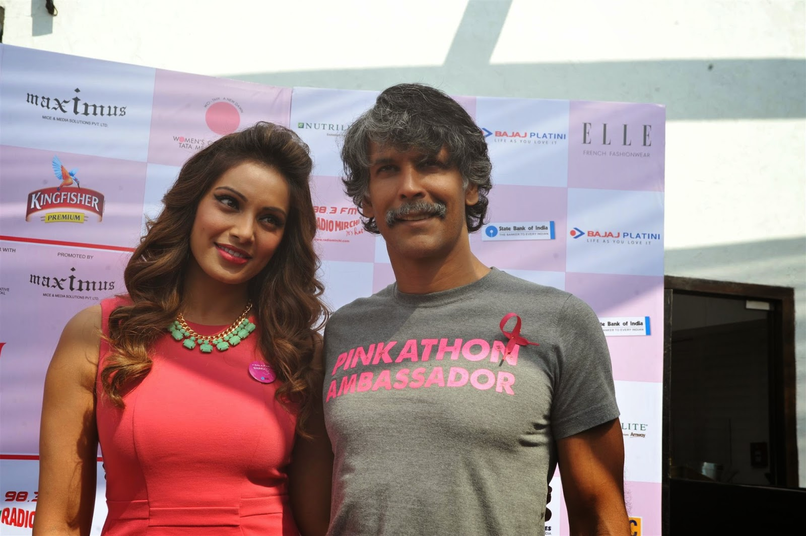 Bipasha Basu Announce The 3rd Edition of Pinkathon Event Stills