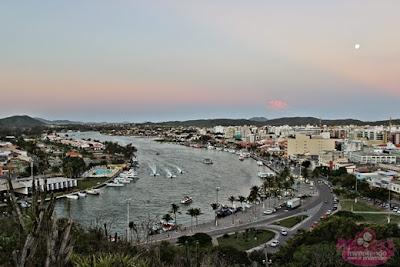 Canal do Itajurú em Cabo Frio