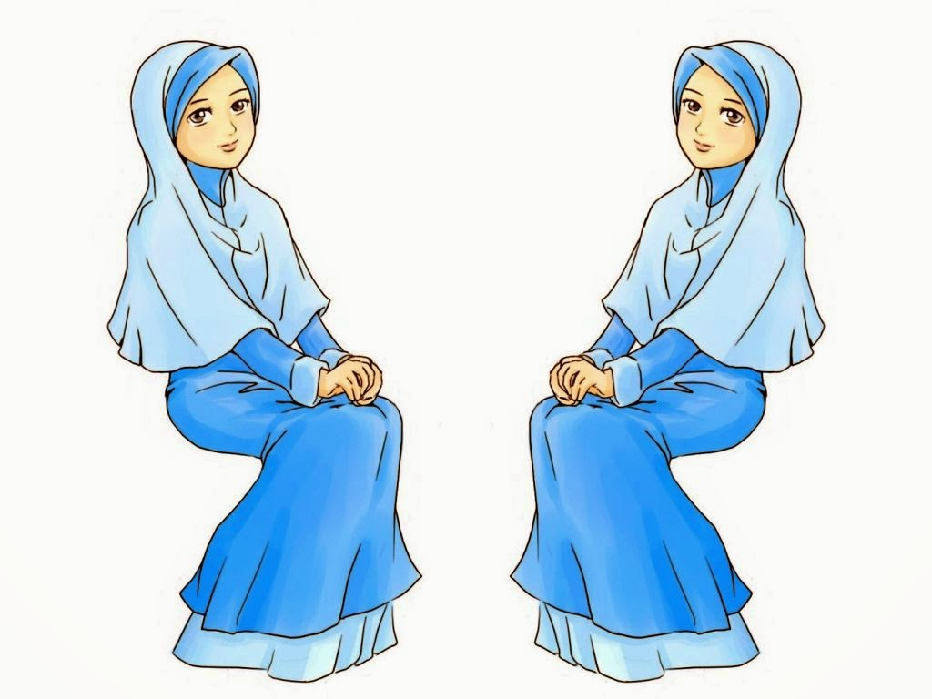 Wallpaper Kartun Muslimah Cantik  Deloiz Wallpaper