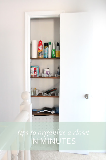 Tips for Organizing Closets