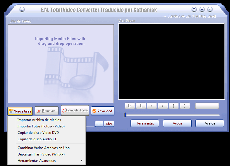 Total Video Converter 3.14 Full + Serial y Crack. uncharted 3 fortune hun..