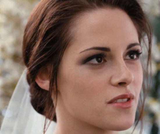 Breaking Dawn Bella Swan Kristen Stewart Wedding Makeup