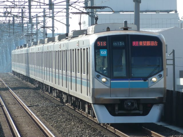 東京メトロ東西線 快速 東葉勝田台行き3 05N系