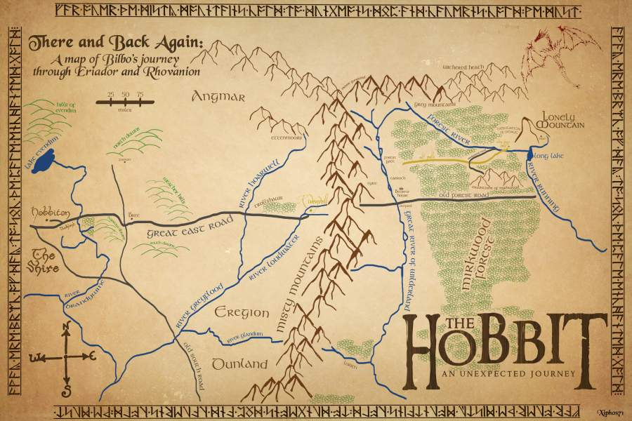 THE HOBBIT J R R TOLKIEN  Beautiful places of Barcelona and