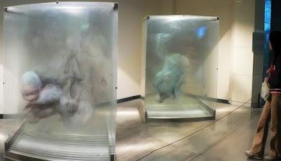 Pinturas 3D sobre vidrio - 2