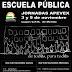 IU-Mérida apoya las jornadas en defensa de la educación pública.