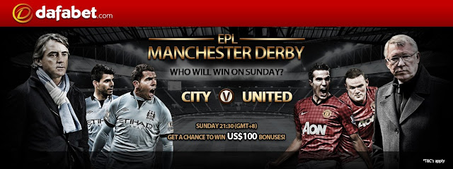 Guessing Promo: Who will win on Sunday? EPL, Manchester Derby: City versus United.