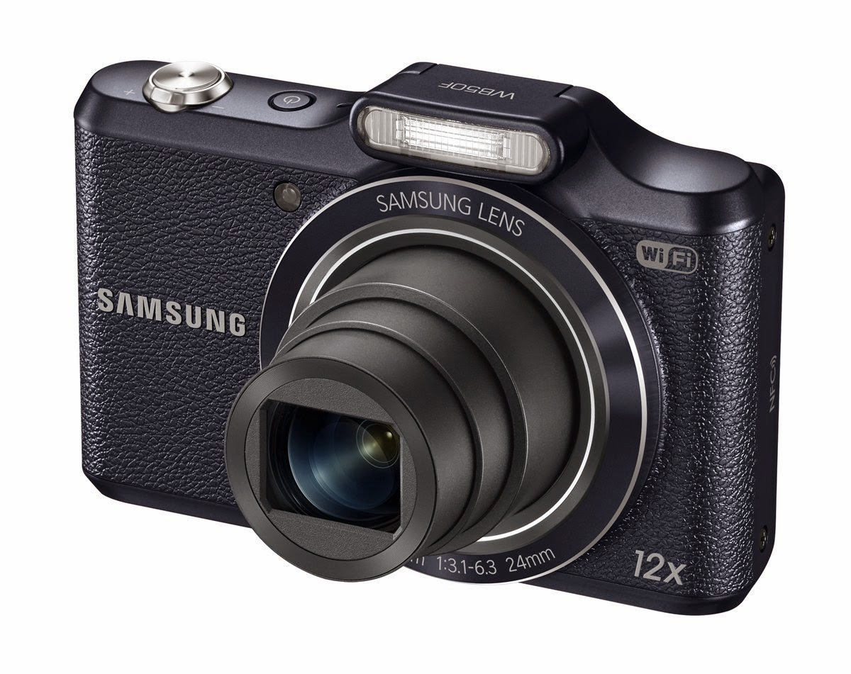 Amazon: Buy Samsung WB50F 16.2MP Smart WiFi and 4GB Card and Case at Rs.7950