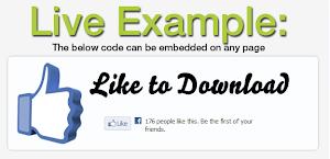 Membuat Tombol Like Facebook for download