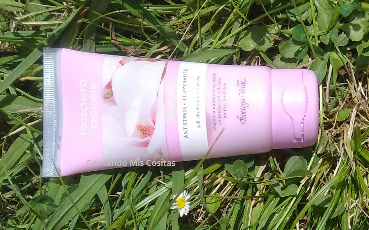 bottega verde Mascarilla hidratante magnolia para pieles deshidratadas y cansadas