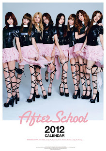 After School 2012 Calendar (Japan Version)