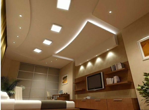 False Ceiling Designs: Living Room Ceiling Lamps, Ultra Modern Equipment Part 77