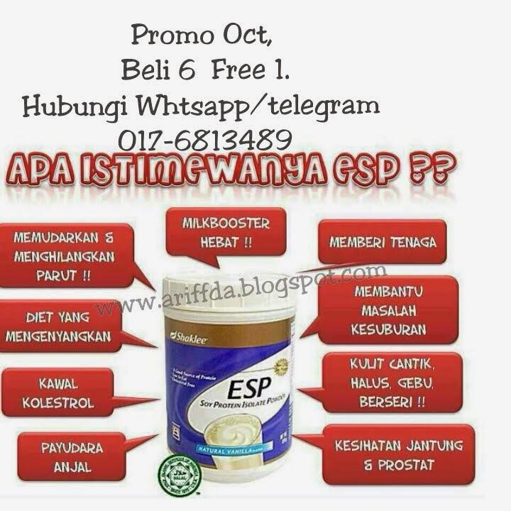 Promo Oct 2014 : Energizing Soy Protin Shaklee